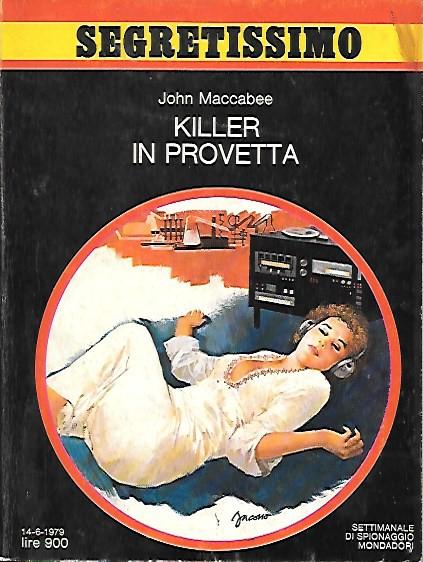 Killer in provetta
