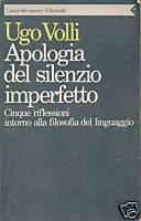 Apologia del silenzio imperfetto