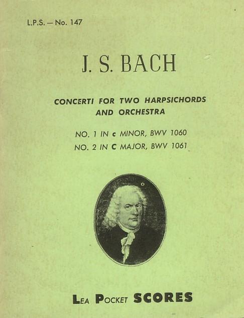 Concerti per 2 cembali e orchestra, BWV 1060 e 1061