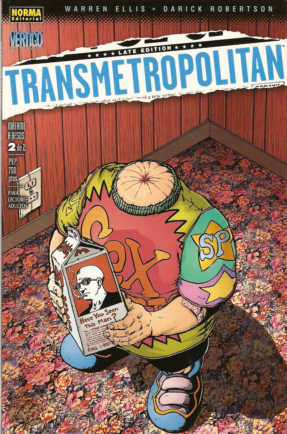 Transmetropolitan: M...