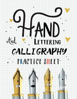Hand Lettering and Calligraphy Practice Sheet
