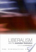 Liberalism and the Australian Federation
