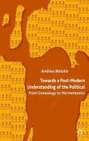 Towards a Post-Modern Understanding of the Political
