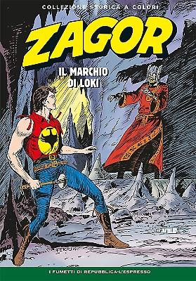 Zagor collezione storica a colori n. 181