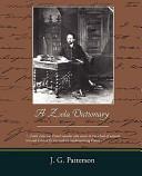 A Zola Dictionary