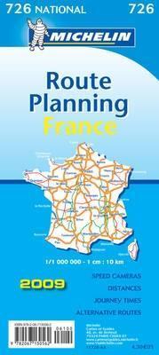 France grands itinéraires-France route planning 1