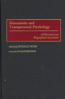 Humanistic and Transpersonal Psychology