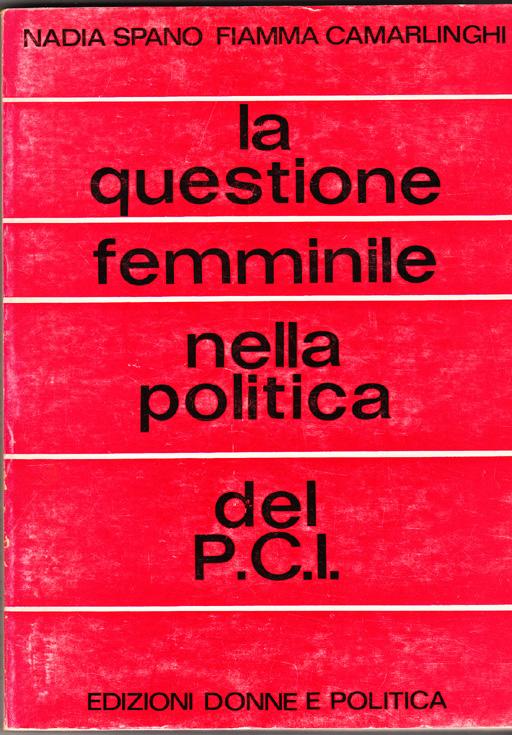 La questione femminile nella politica del P.C.I.
