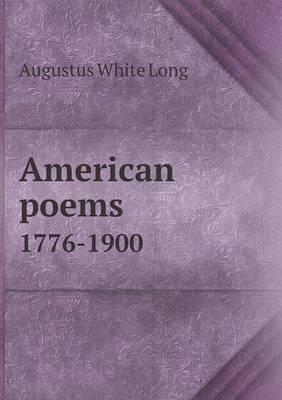 American Poems 1776-1900
