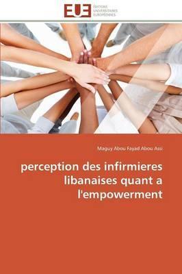 Perception des Infirmieres Libanaises Quant a l'Empowerment