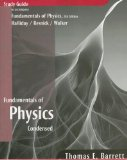 Fundamentals of Physics, Student Study Guide