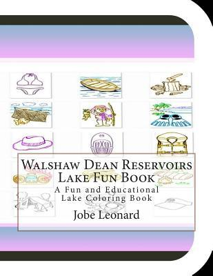 Walshaw Dean Reservoirs Lake Fun Book Coloring Book