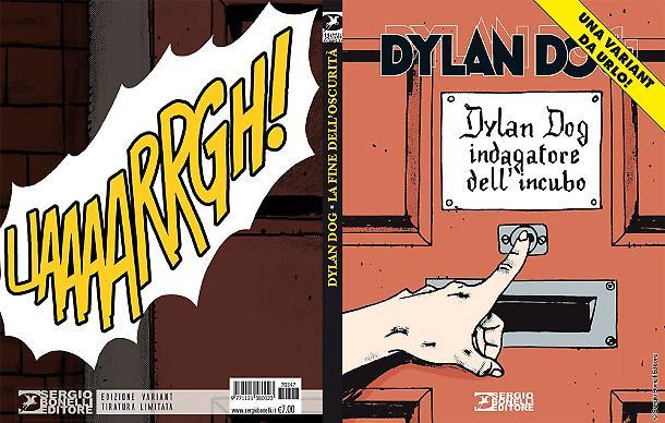 Dylan Dog n. 374 - Variant Lucca Comics 2017