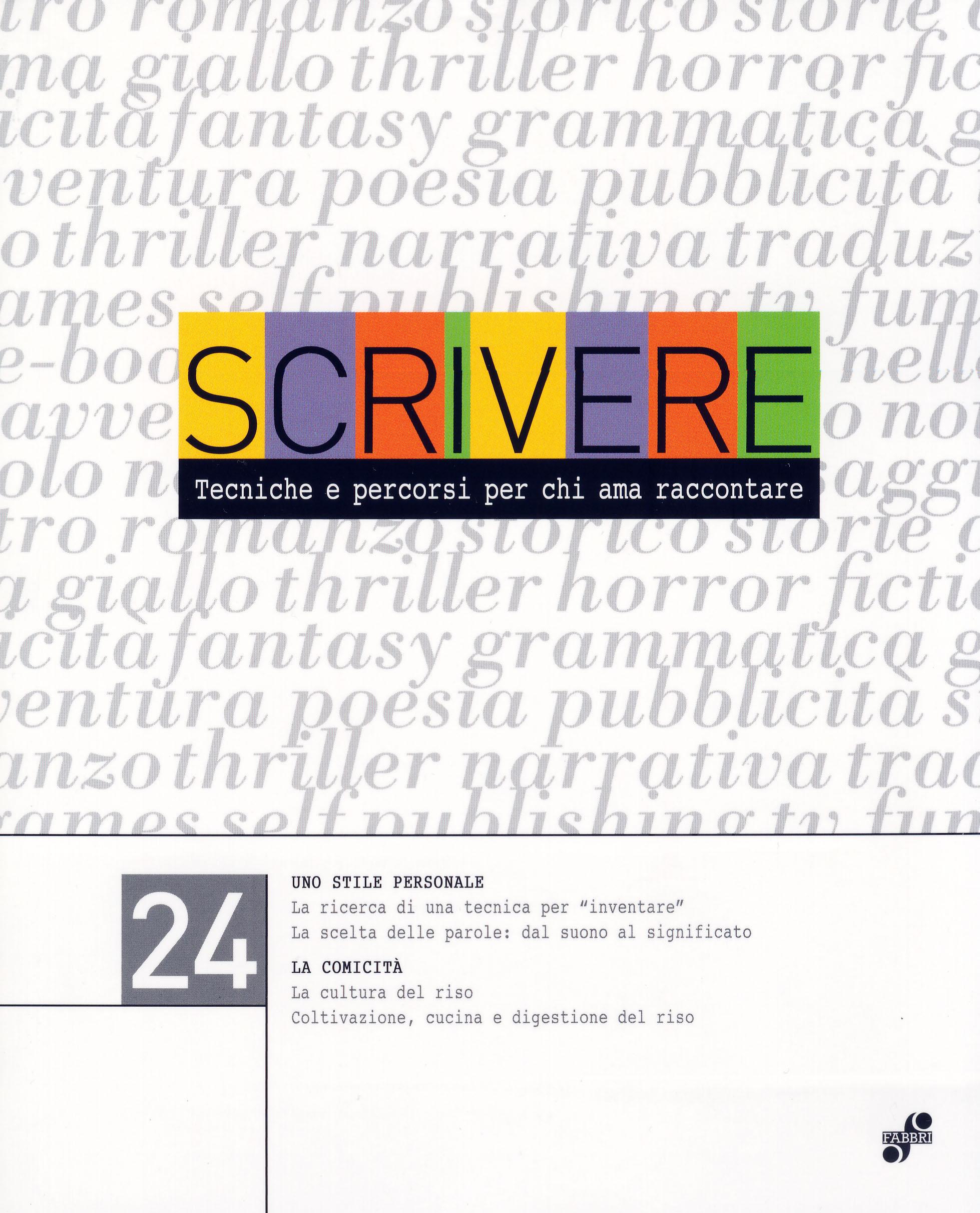Scrivere - vol. 24