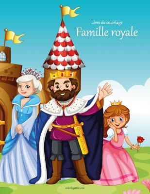Livre De Coloriage Famille Royale