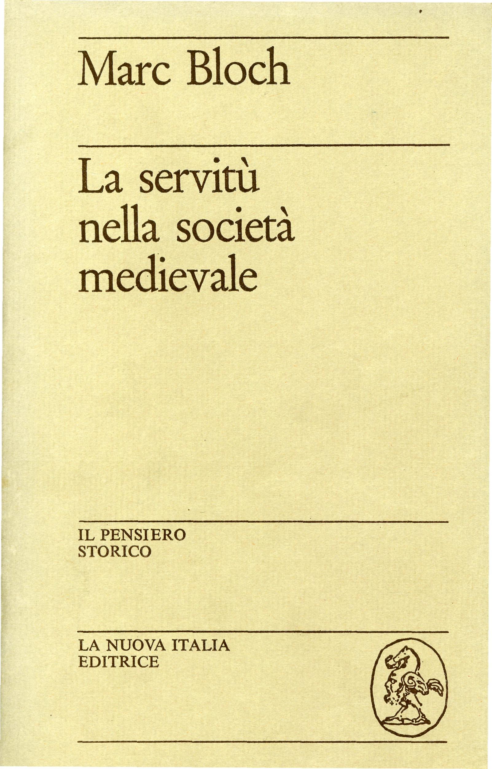 La servitù nella società medioevale