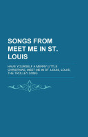 Songs from Meet Me in St Louis