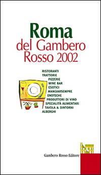 Roma del Gambero Rosso 2002