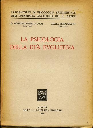 La psicologia della età evolutiva