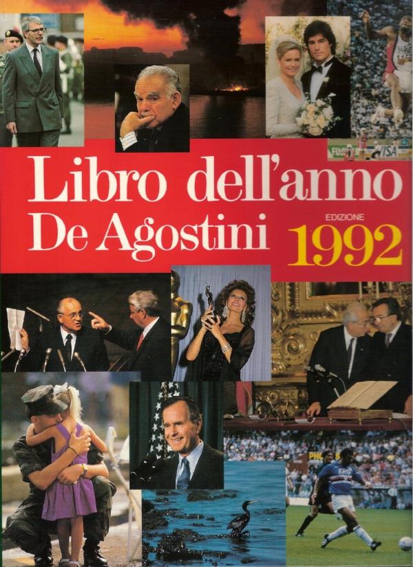 Libro dell'anno De Agostini 1992