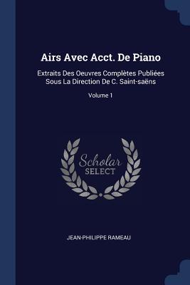 Airs Avec Acct. de Piano