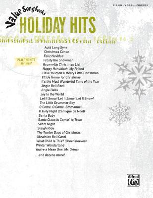 Value Songbooks Holiday Hits