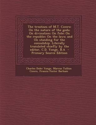 The Treatises of M.T. Cicero