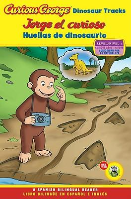 Curious George Dinosaur Tracks / Jorge el curioso huellas de dinosaurio