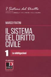 Il sistema del diritto civile - Vol. 1
