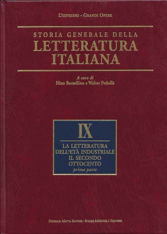 Storia Generale della Letteratura Italiana, Vol. 9
