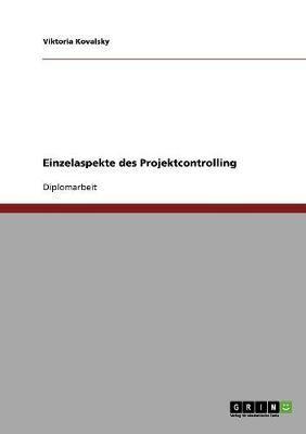 Einzelaspekte des Projektcontrolling