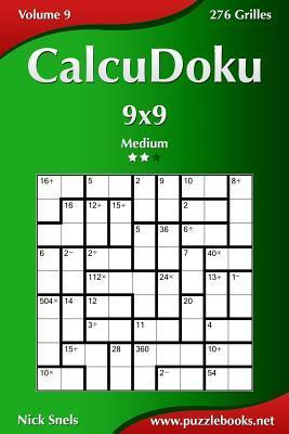 Calcudoku 9x9, Medium