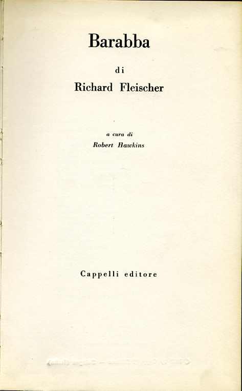 Barabba di Richard Fleischer