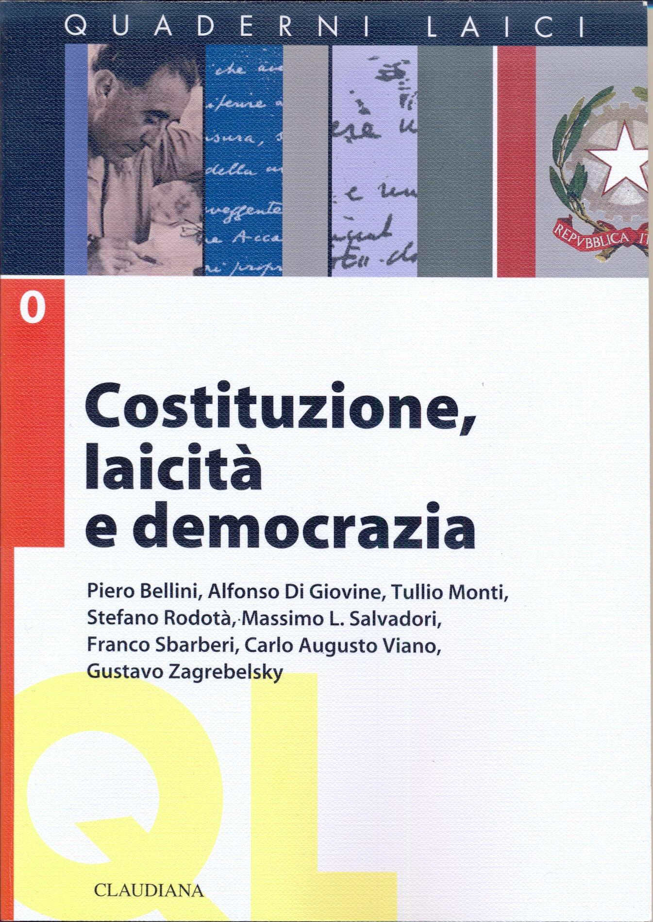 Costituzione, laicità, democrazia