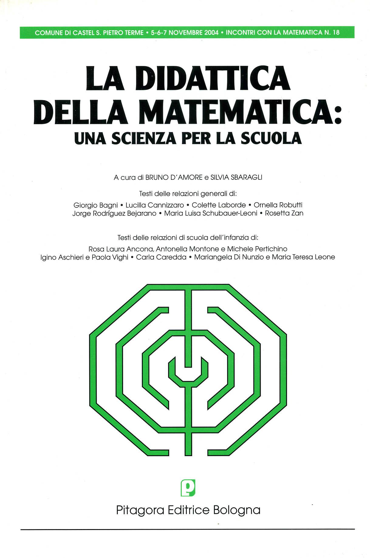 La didattica della matematica: una scienza per la scuola