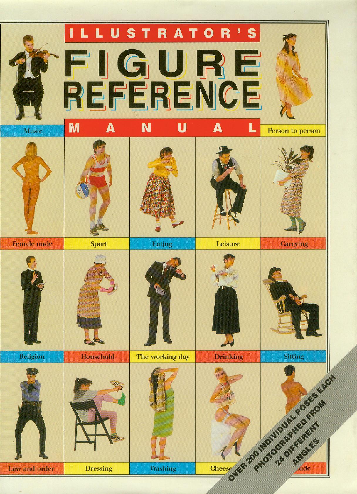 Illustrator's Figure Reference Manual