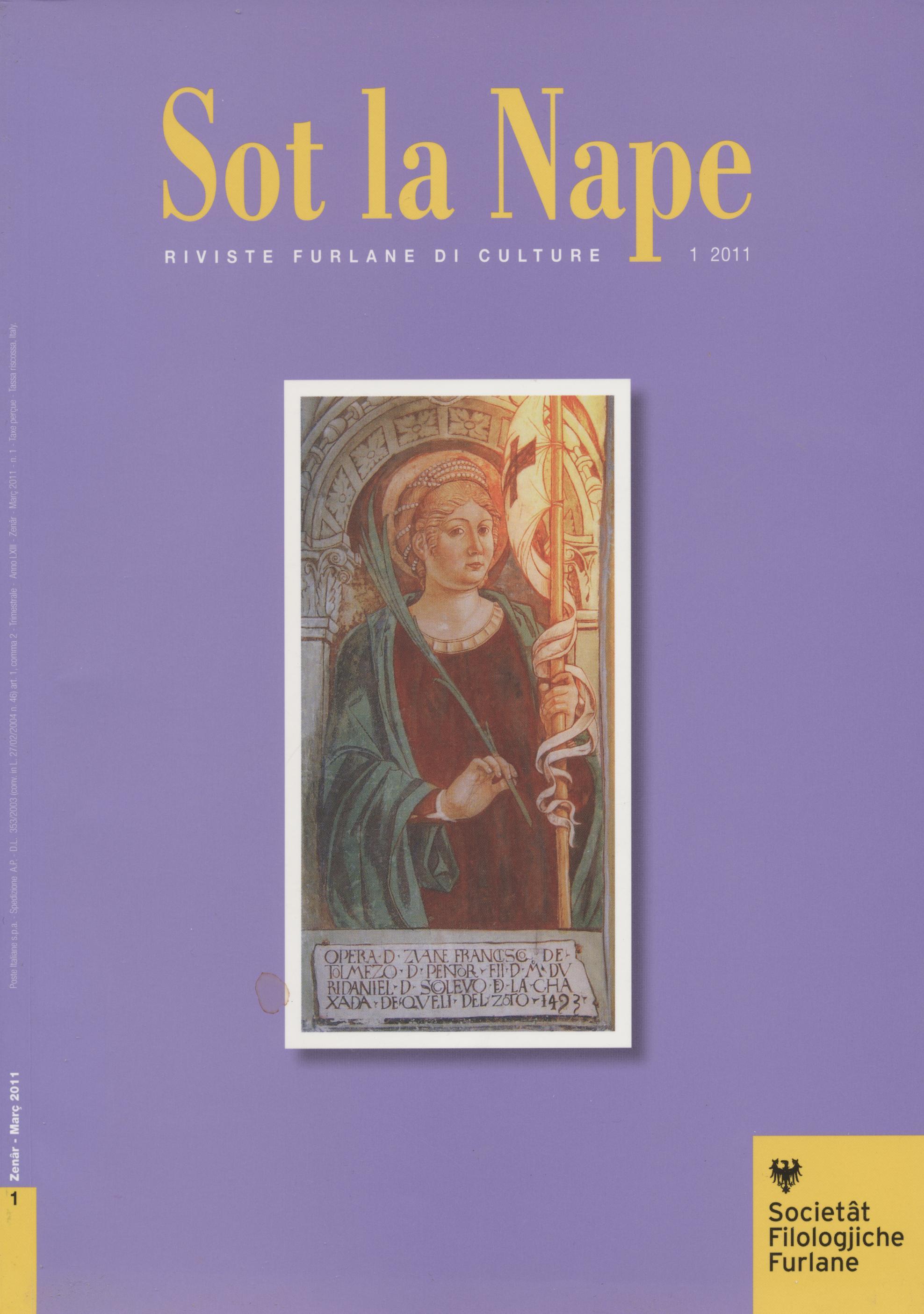 Sot la Nape, n.1 (2011)