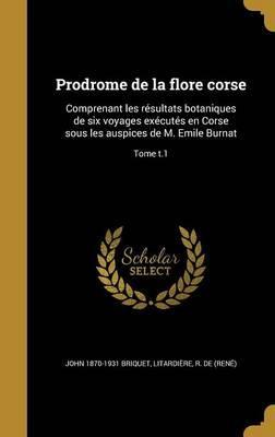 FRE-PRODROME DE LA FLORE CORSE