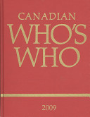 Canadian Who's Who 2009