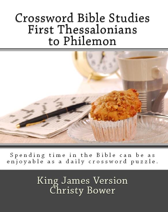Crossword Bible Studies: First Thessalonians to Philemon