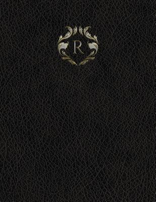"""Monogram """"R"""" Sketchbook"""