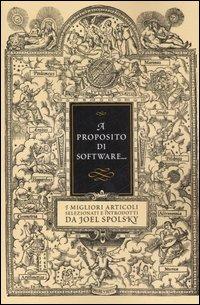A proposito di software