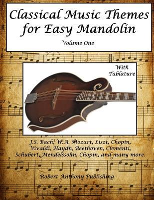 Classical Music Themes for Easy Mandolin