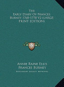 The Early Diary of Frances Burney 1768-1778 V2