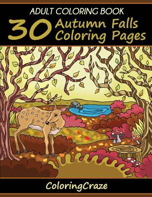 30 Autumn Falls Coloring Pages