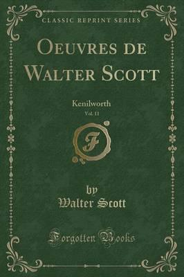 Oeuvres de Walter Scott, Vol. 11