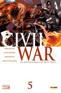 Civil War n. 5 (di 7...