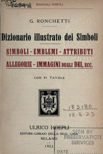 Dizionario illustrato dei simboli