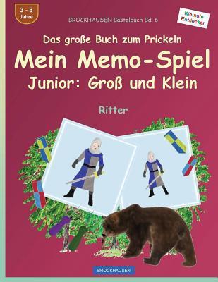 BROCKHAUSEN Bastelbuch Bd. 6 - Das große Buch zum Prickeln - Mein Memo-Spiel Junior