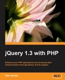 Jquery 1.3 with PHP